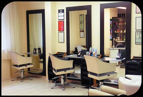 Дизайн в парикмахерской эконом класса